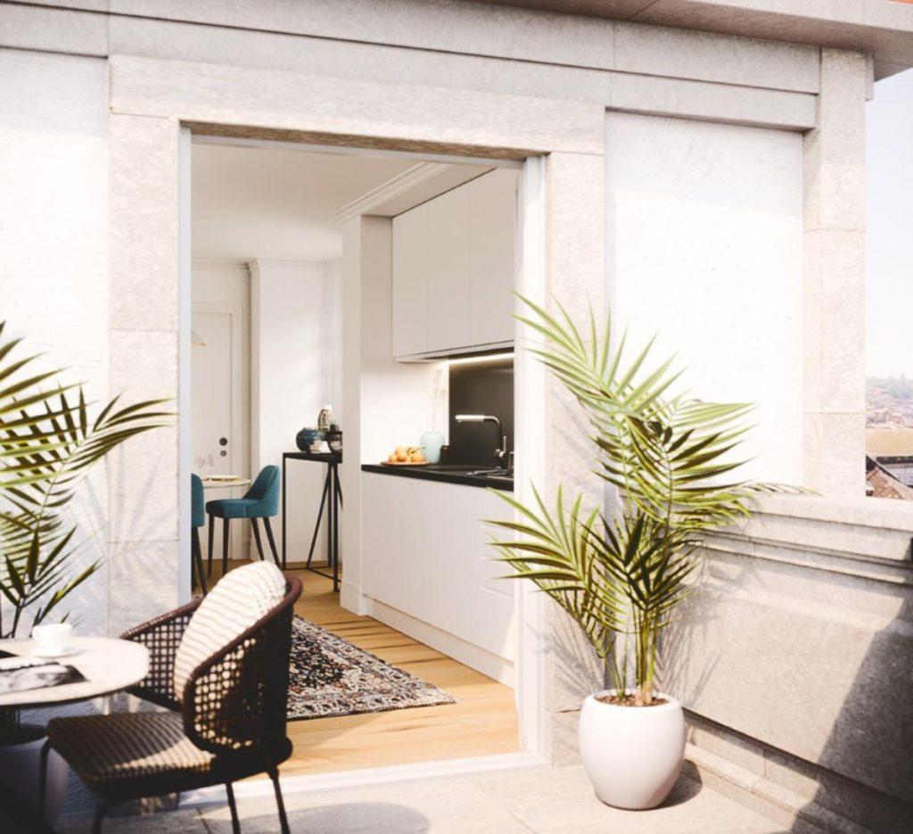 Apartamento de Luxo no Living Aliados na Baixa do Porto