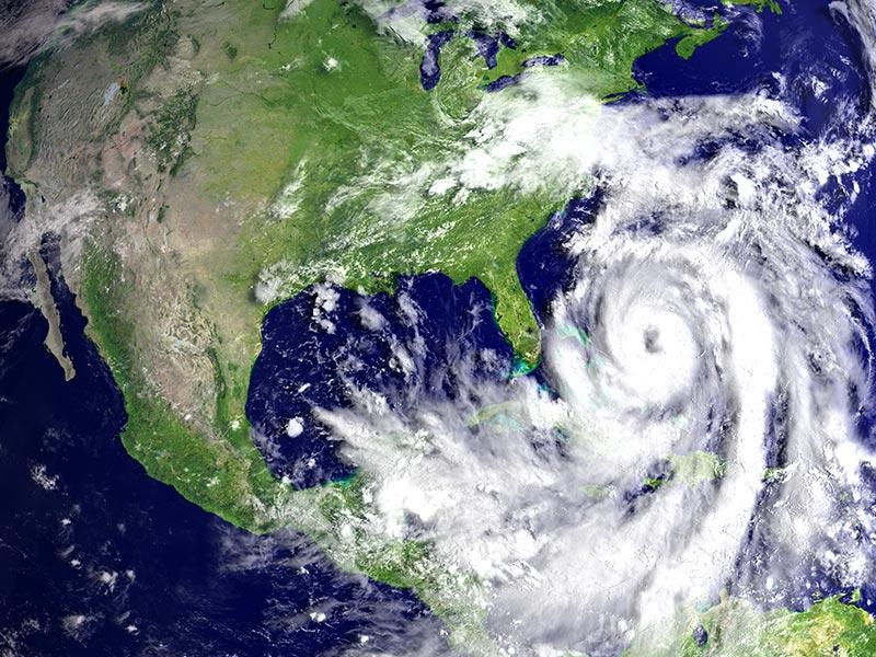 Temporada de furacões na Flórida