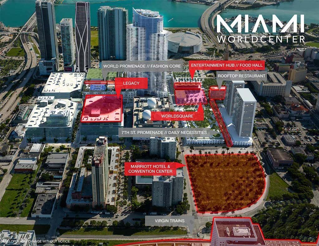 Legacy Hotel & Residences no Miami Worldcenter